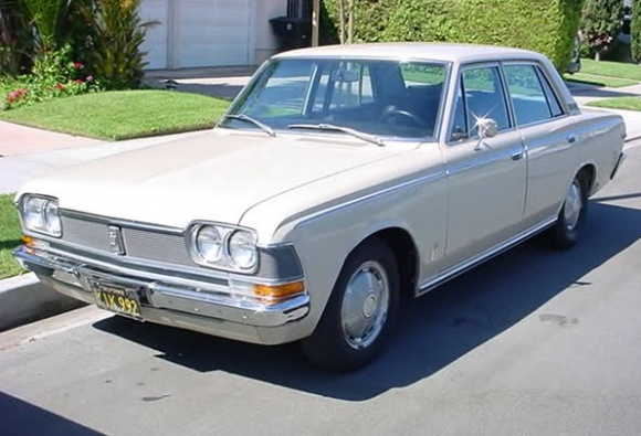1968 Toyota Crown #8