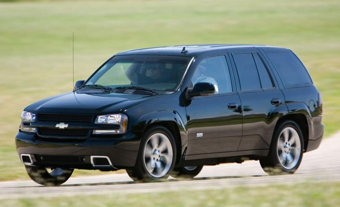 2008 Chevrolet Trailblazer #7