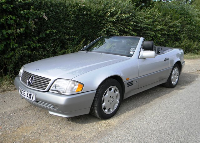 1994 Mercedes-Benz SL #16