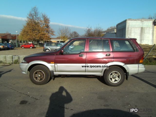 1996 Ssangyong Musso #11