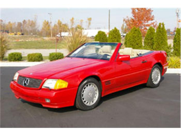 1991 Mercedes-Benz SL #5
