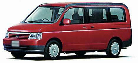1996 Honda Step Wagon #9