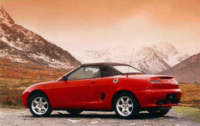 1995 Rover MGF #5