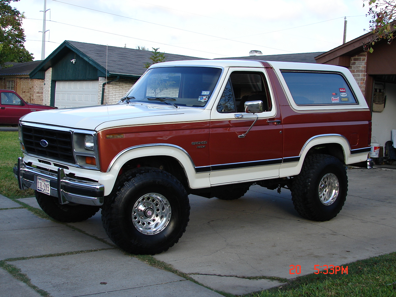 Ford Bronco Photos Informations Articles 2000 F350 Wiring Diagram For Pinterest 8