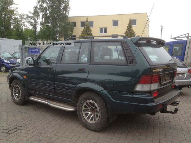 1998 Ssangyong Musso #9