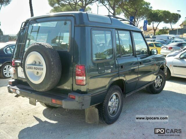 1995 Land Rover Discovery #10