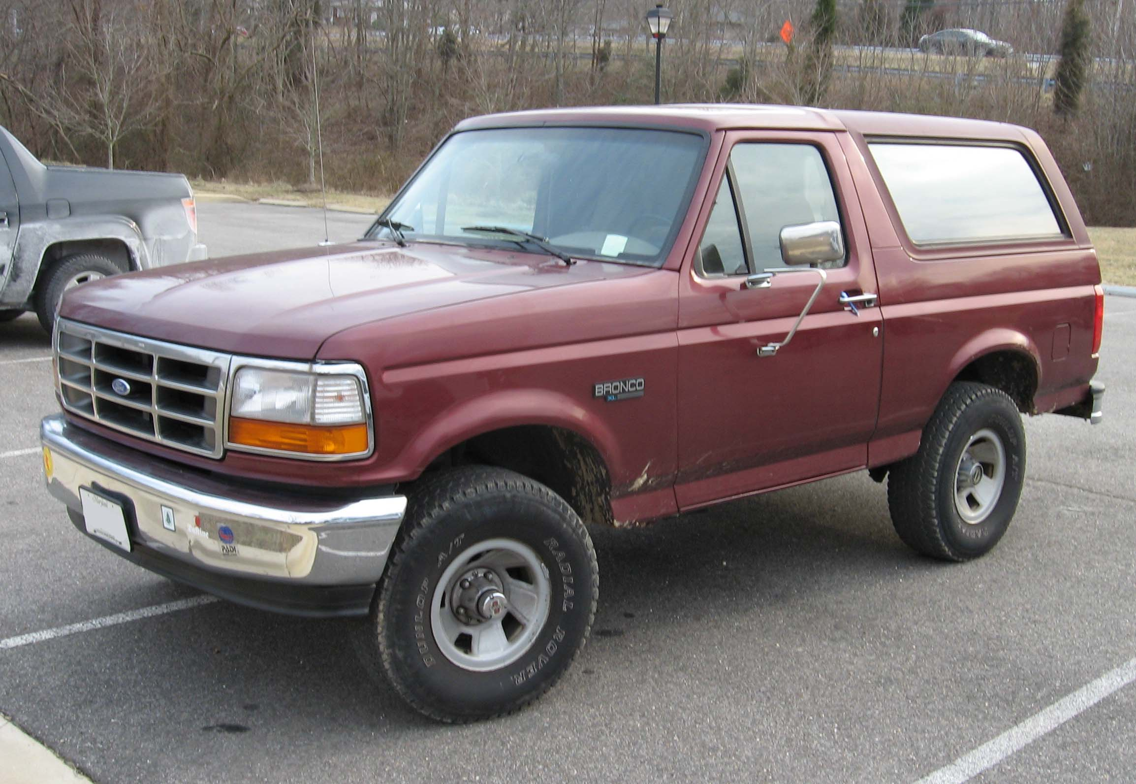 1992 Ford Bronco #12