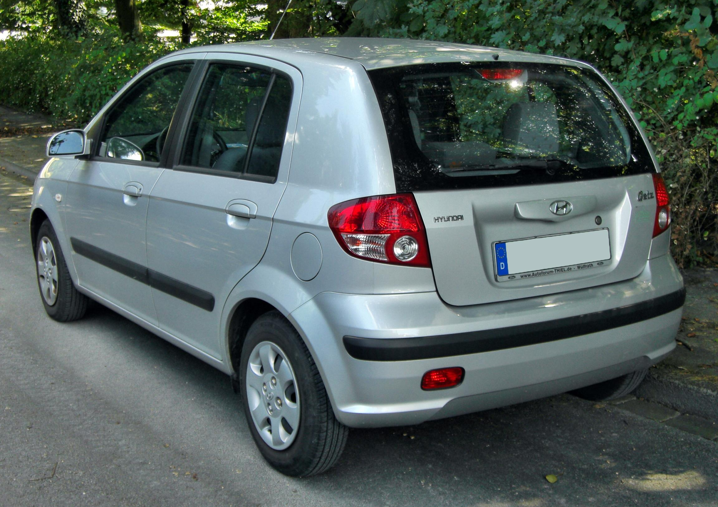 2009 hyundai getz photos informations articles. Black Bedroom Furniture Sets. Home Design Ideas