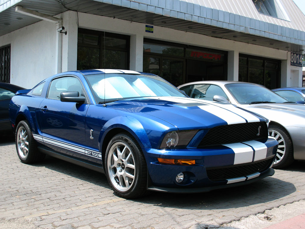 2009 Ford Shelby GT 500 #9