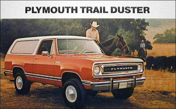 1977 Plymouth Trail Duster #18
