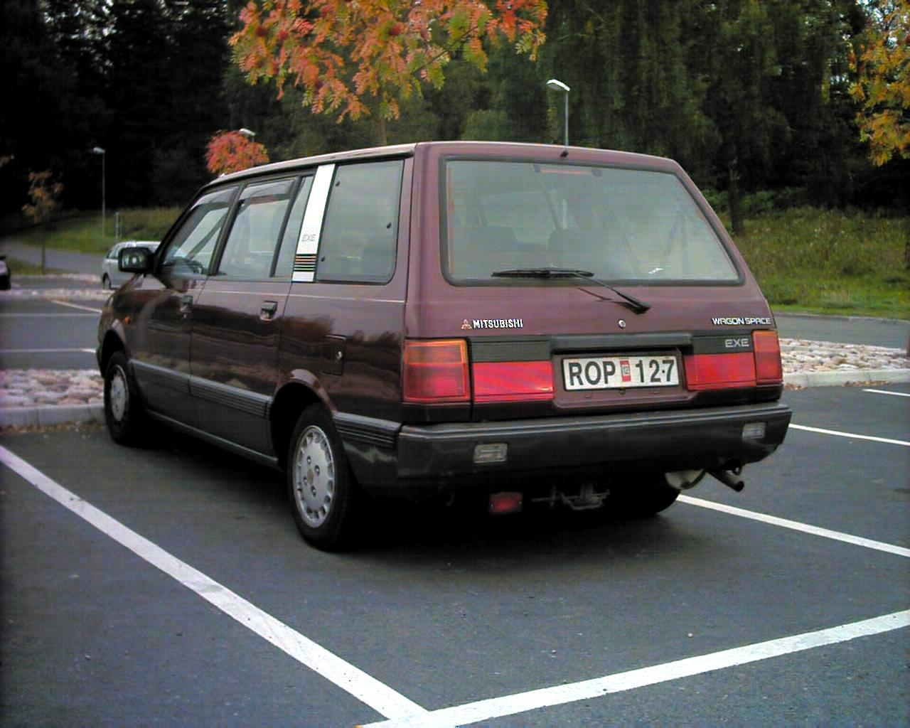 1991 Mitsubishi Space Wagon #7