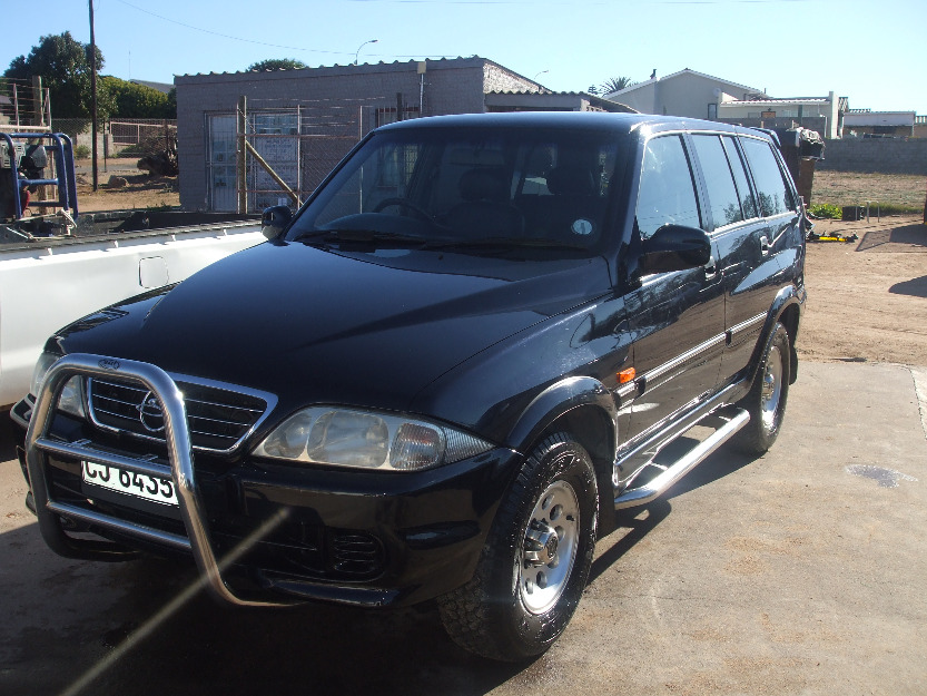 2000 Ssangyong Musso #11