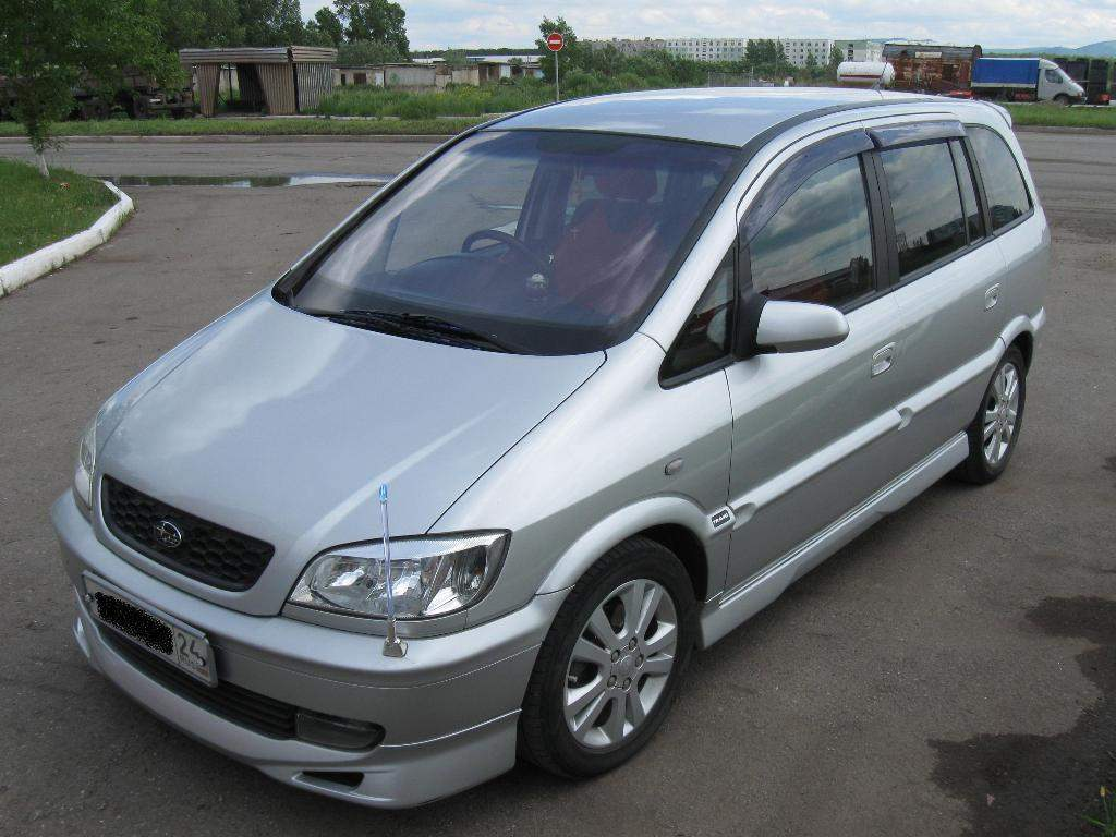 2005 Subaru Traviq #4