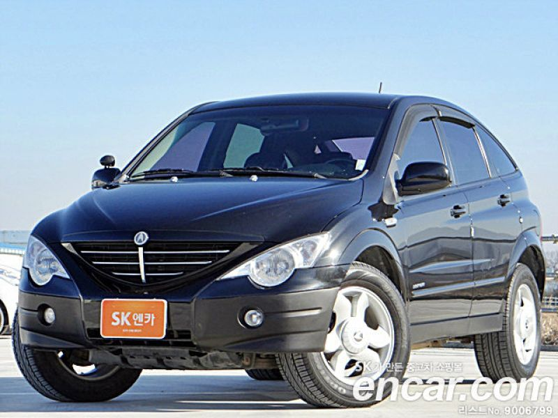 2005 Ssangyong Actyon #6
