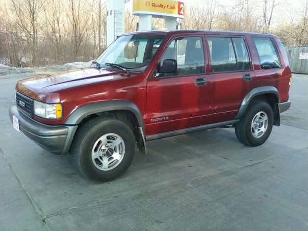 1996 Isuzu Trooper #2