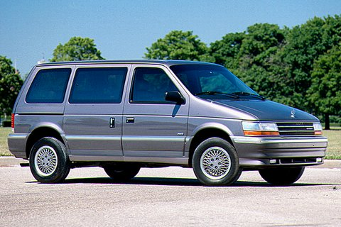 1991 Plymouth Voyager #6