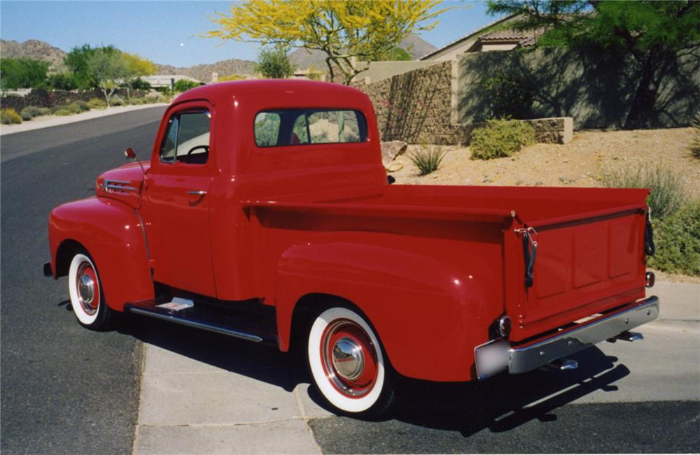 1952 Ford F #12