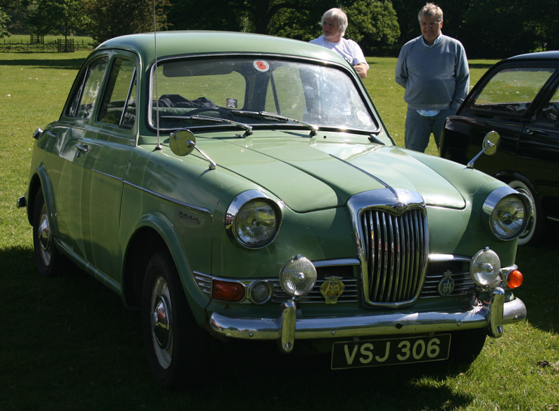1965 Riley One-Point-Five #8