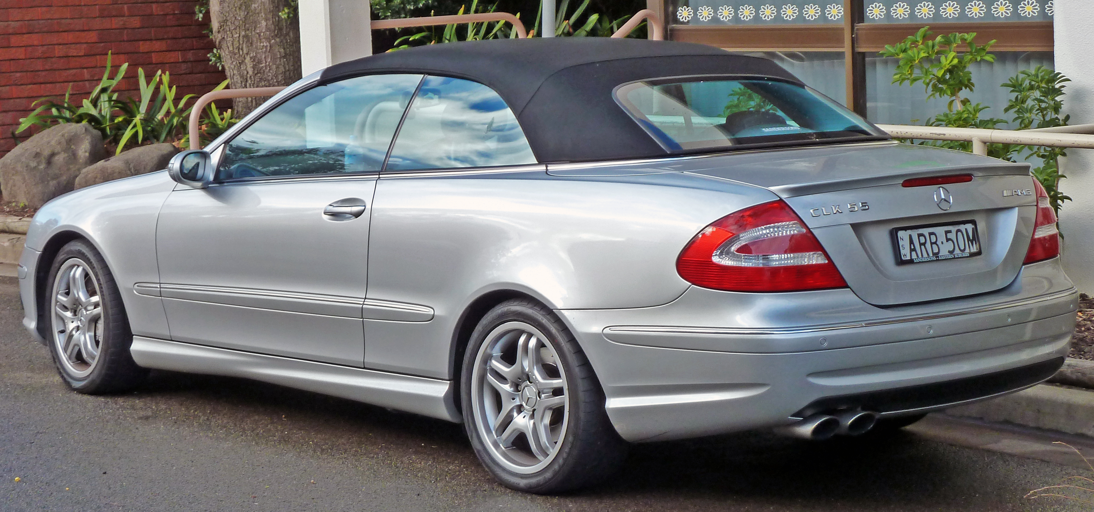 2003 Mercedes-Benz CLK #14