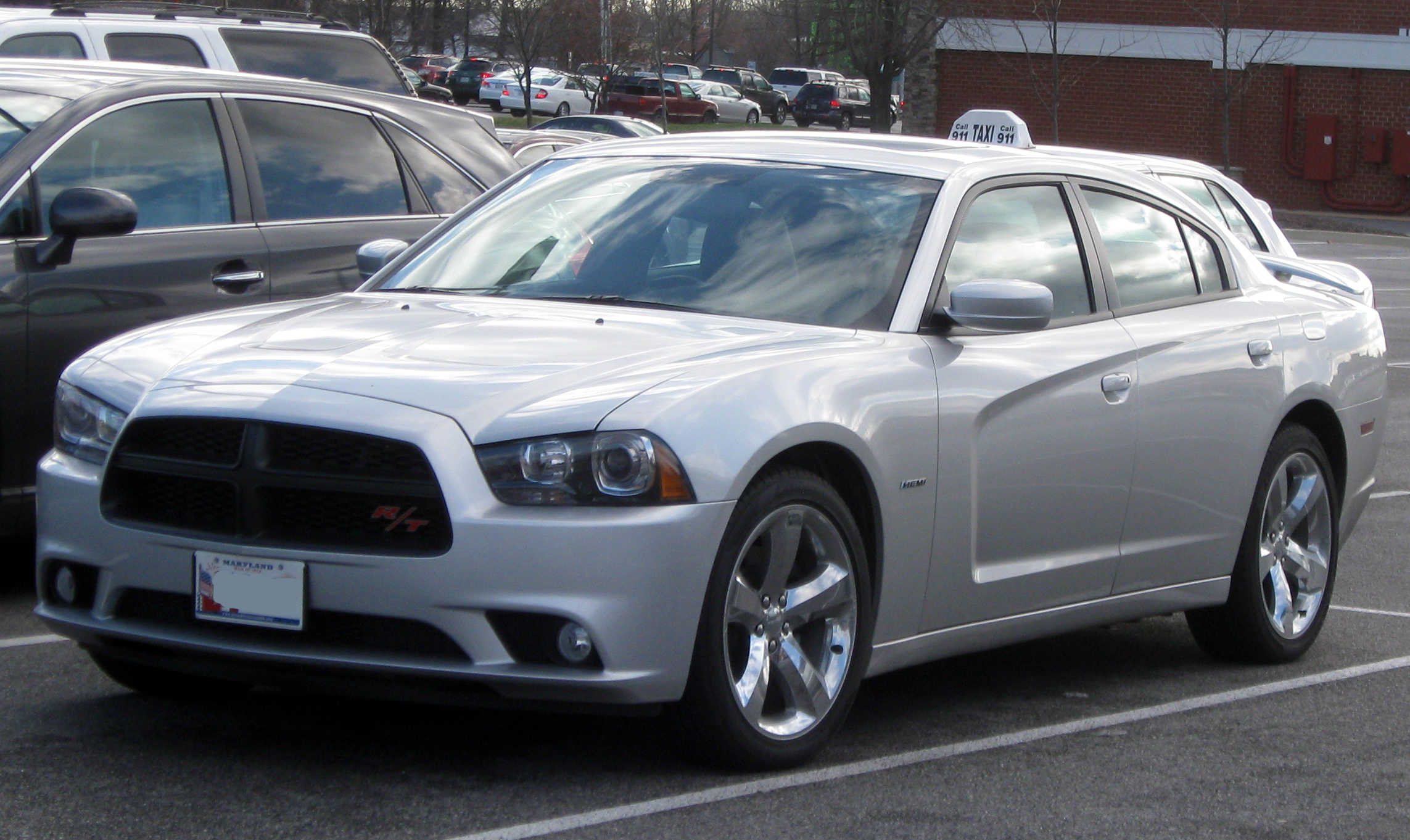 2011 Dodge Charger #7
