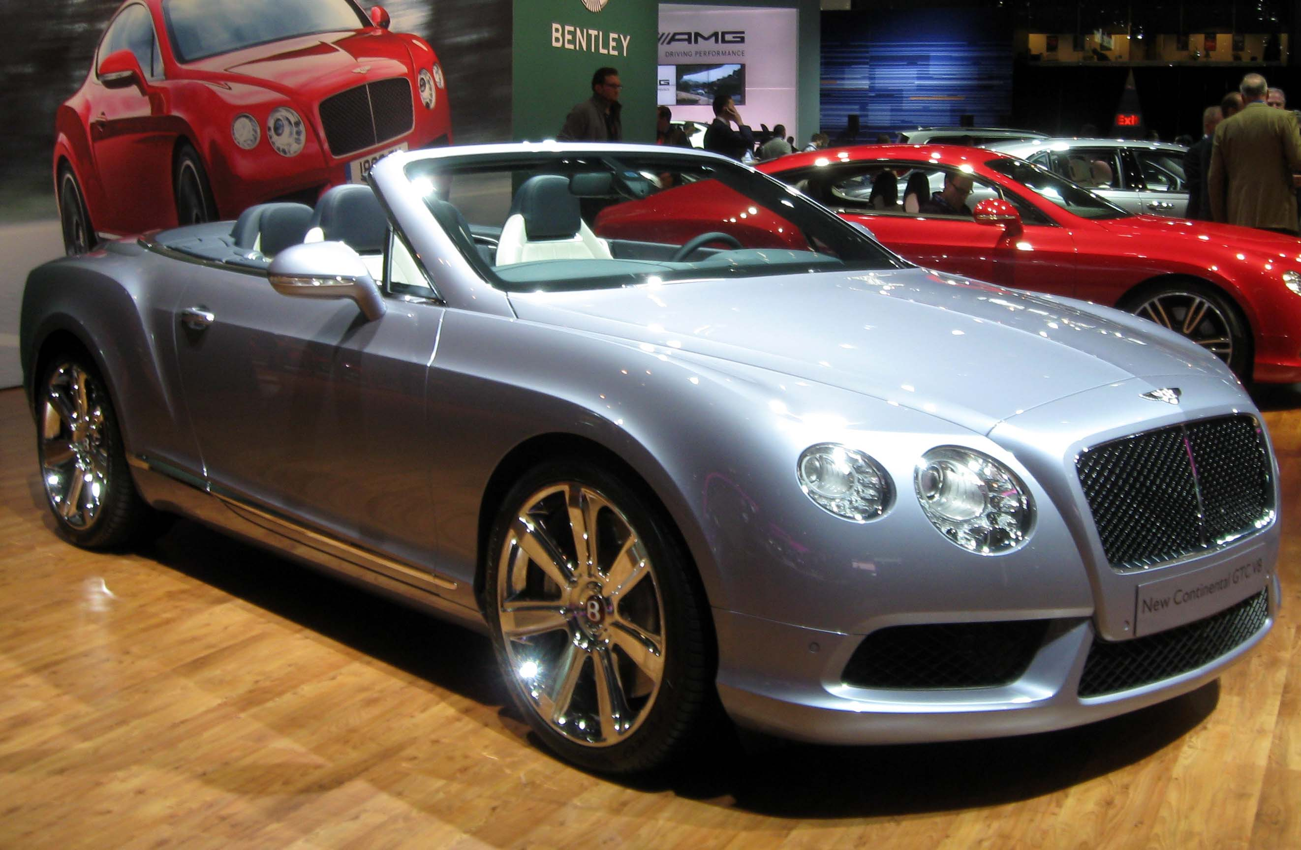 2013 Bentley Continental Gtc #16