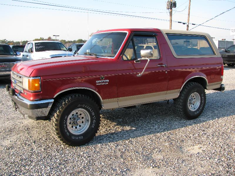 1991 Ford Bronco #5