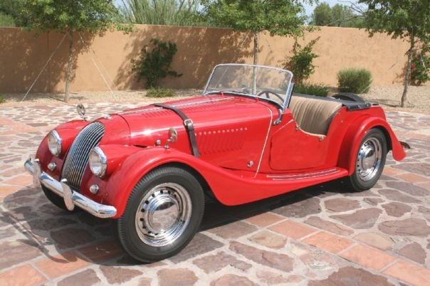 1957 Morgan Plus 4 #7