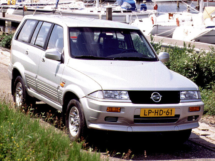 1995 Ssangyong Musso #11