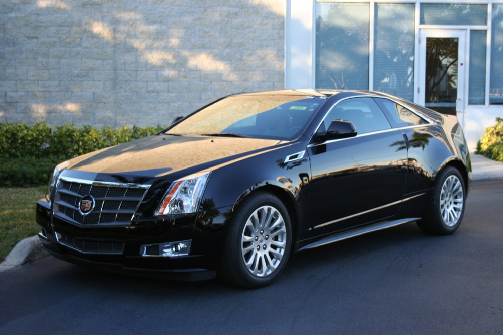 2011 Cadillac Cts Coupe #2