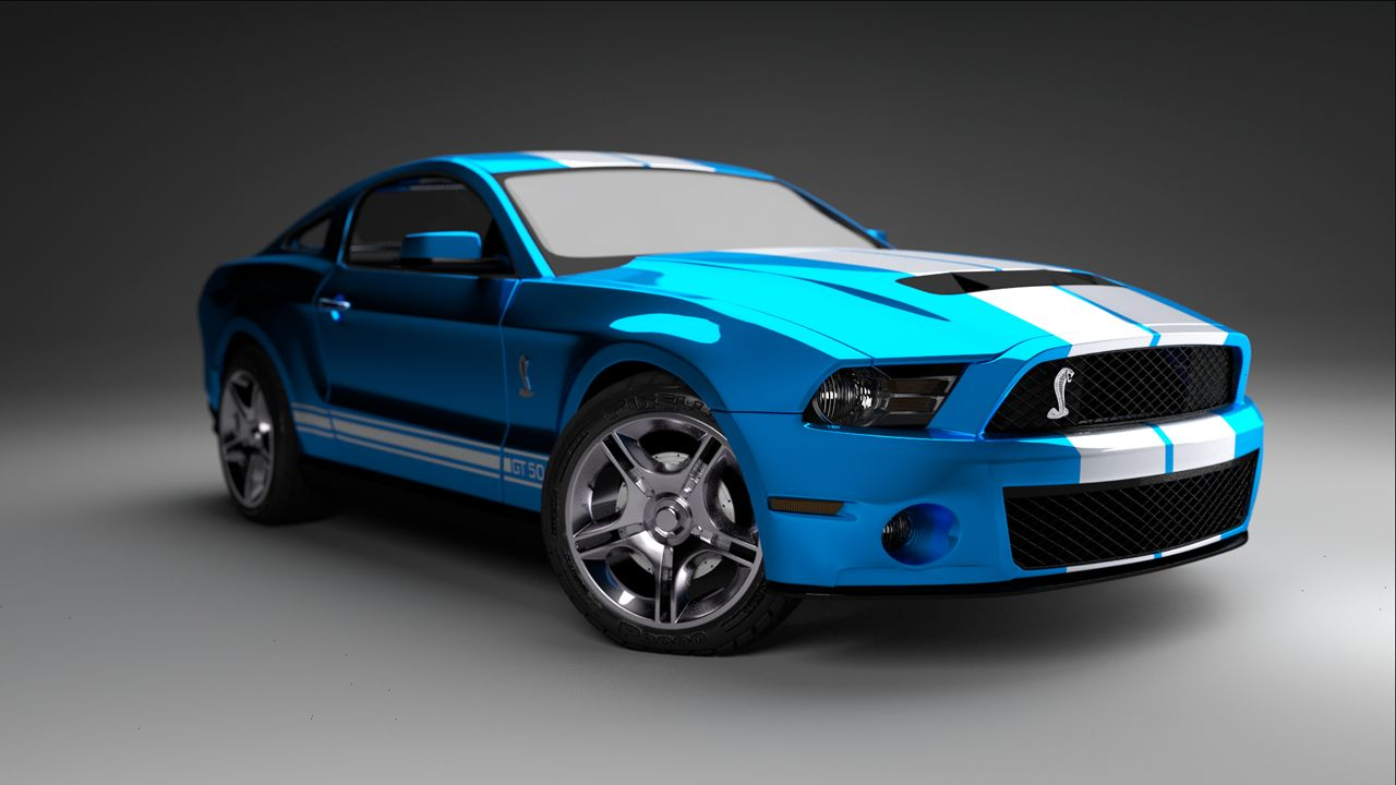 Ford Shelby Gt500 #8