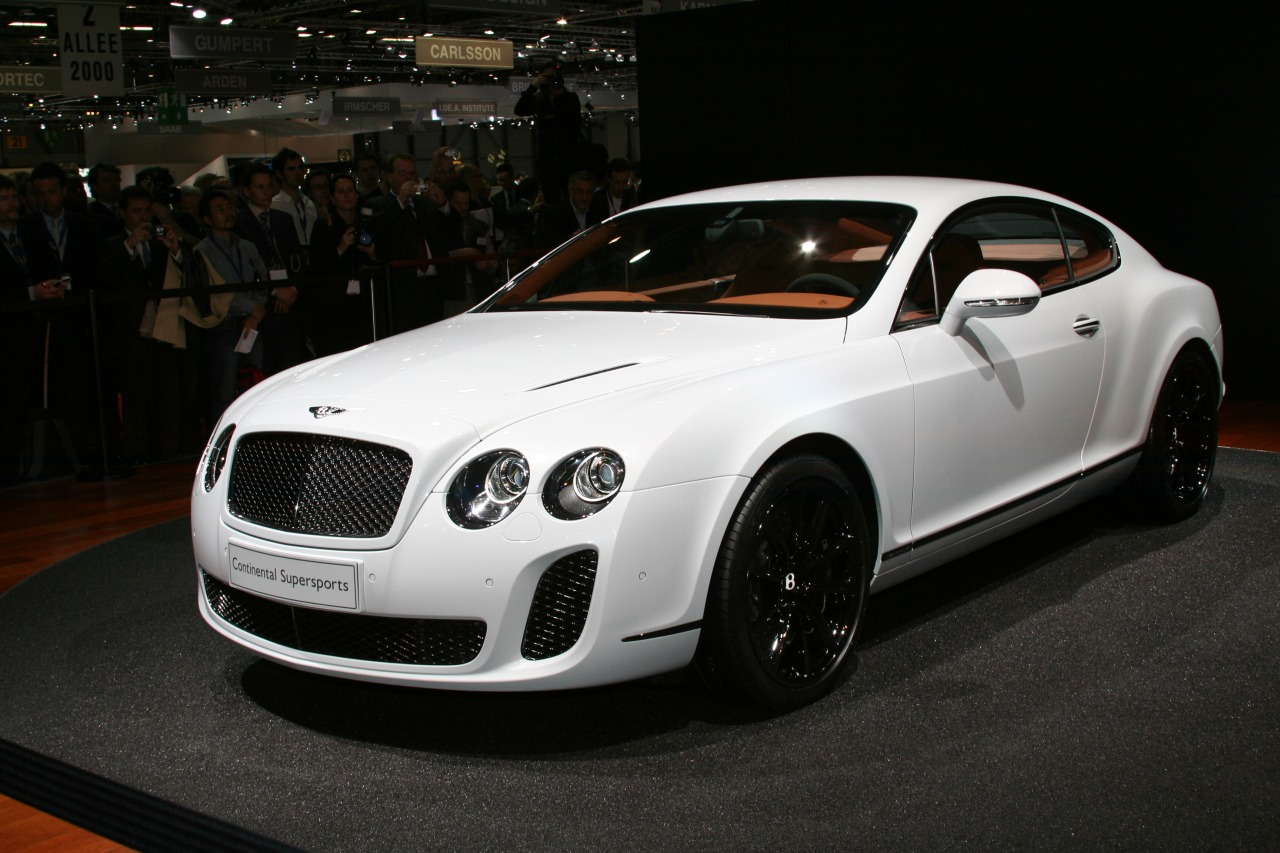2012 Bentley Continental Supersports #3