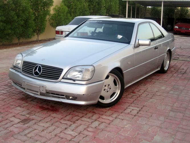 1998 Mercedes Benz CL #8