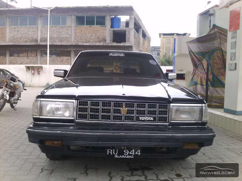 1986 Toyota Crown #8