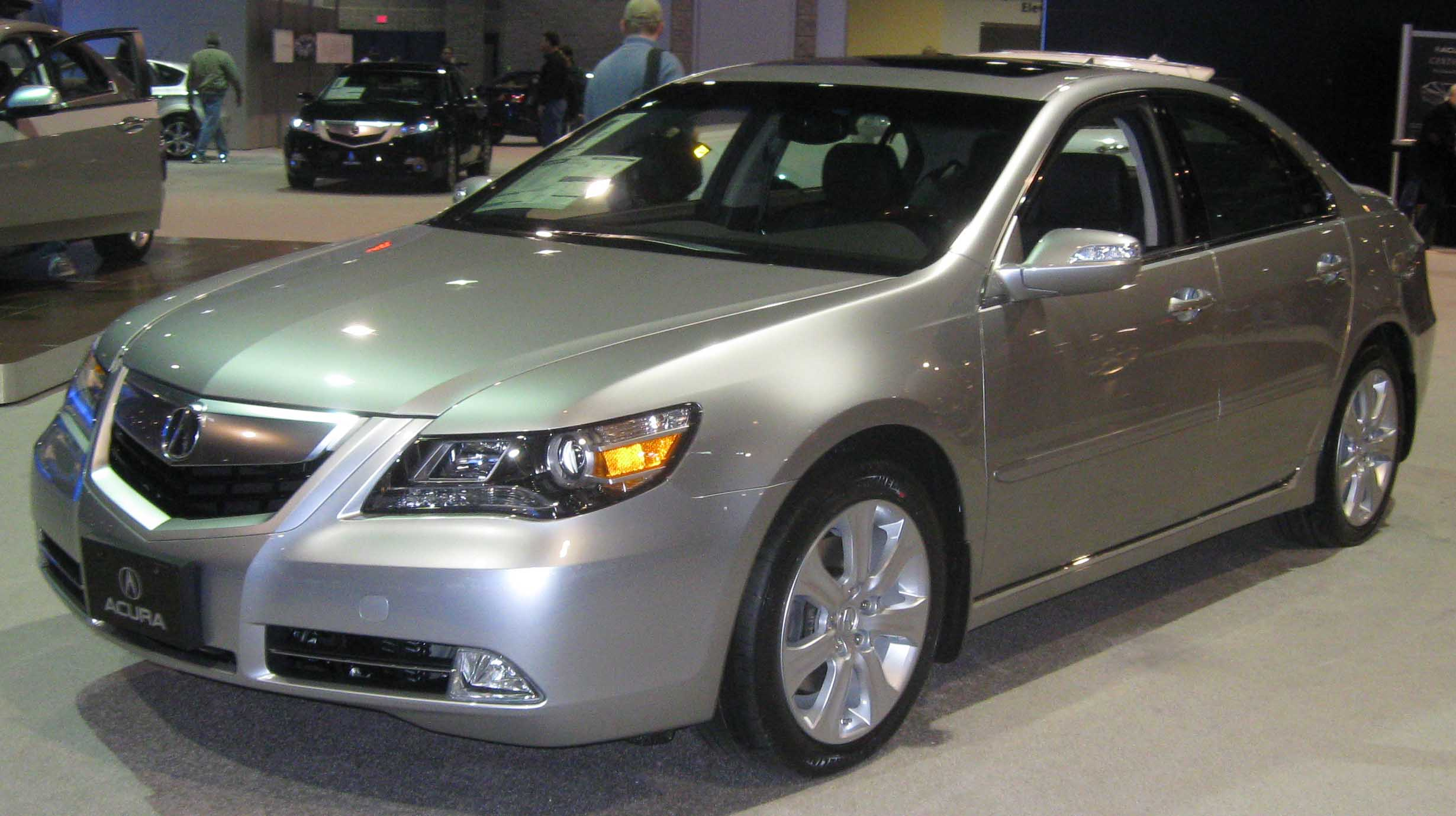 2009 acura rl photos informations articles. Black Bedroom Furniture Sets. Home Design Ideas