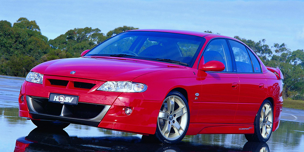 2002 Holden HSV #13