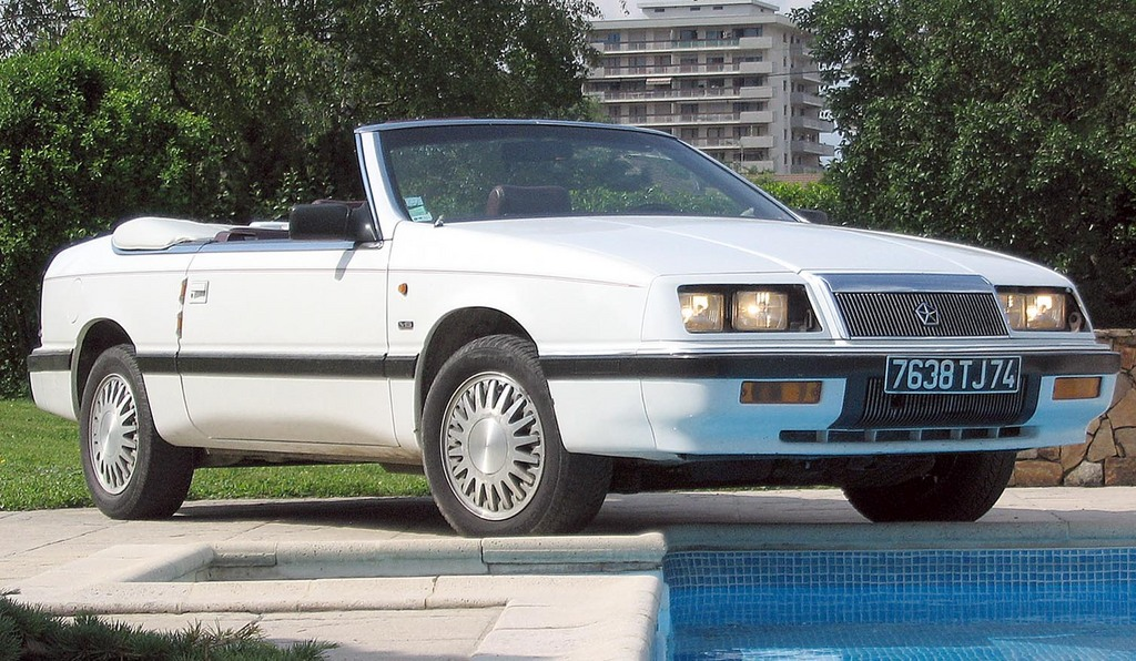 1990 Chrysler Le Baron #3