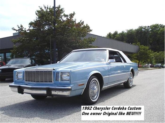 1982 Chrysler Cordoba #4