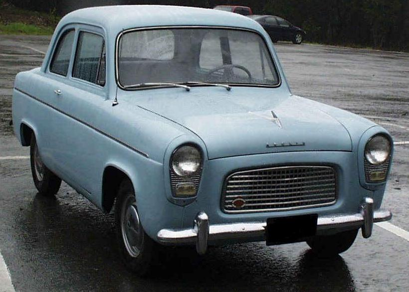 1957 Ford Anglia Photos  Informations  Articles