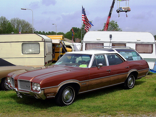 1971 Oldsmobile Vista Cruiser #15