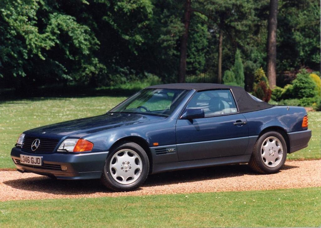 1989 Mercedes-Benz SL #7