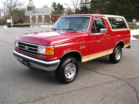 1990 Ford Bronco #1