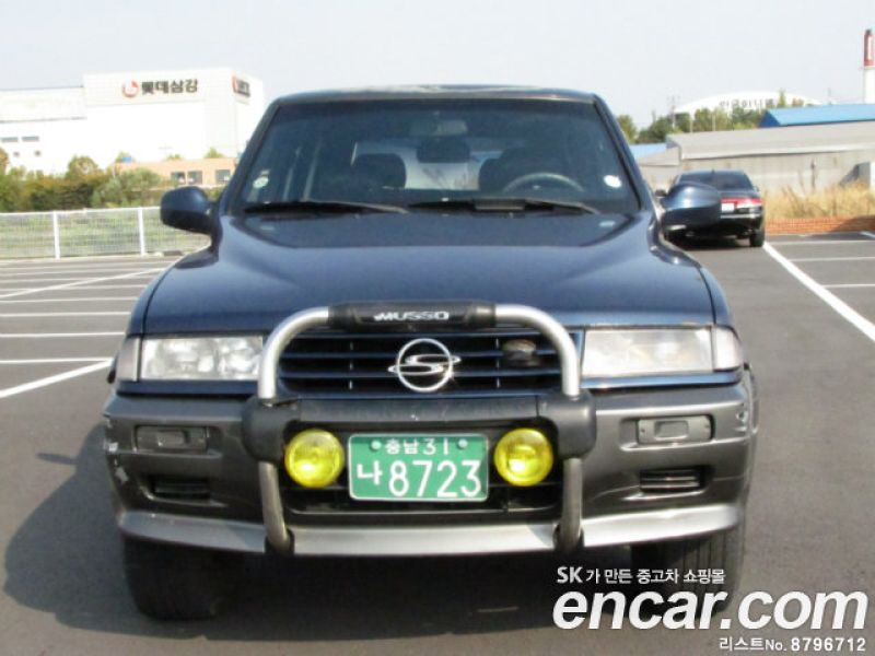 1996 Ssangyong Musso #9