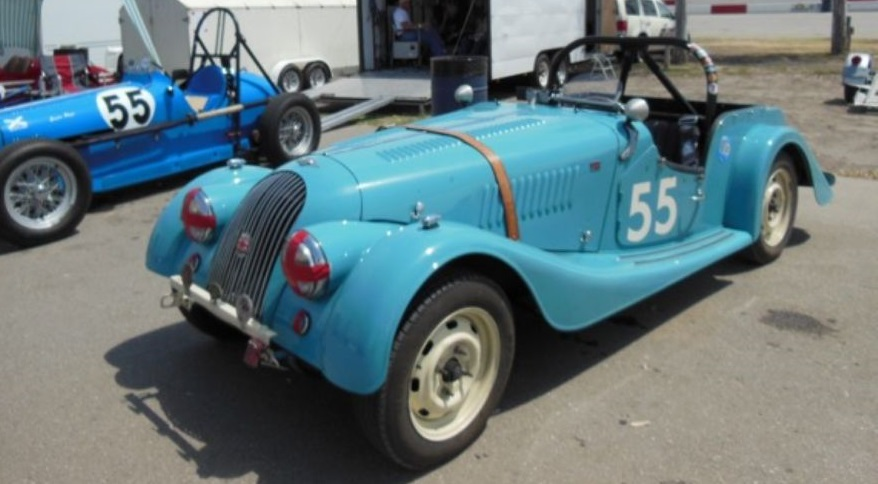 1956 Morgan Plus 4 #7