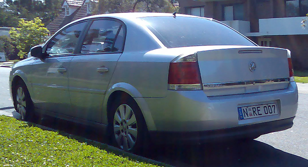 2004 Holden Vectra #6