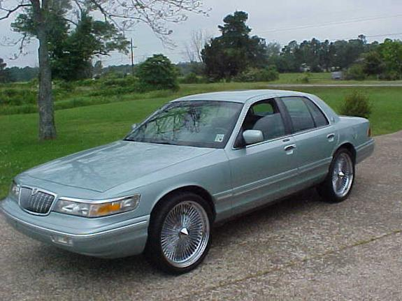 1996 Mercury Grand Marquis #9