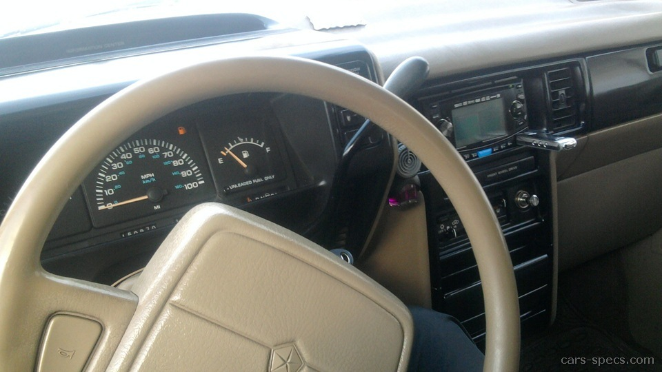 1993 Chrysler Town And Country #14