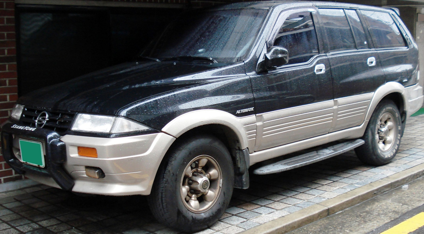 2011 Ssangyong Musso #10