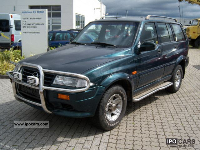 1999 Ssangyong Musso #2