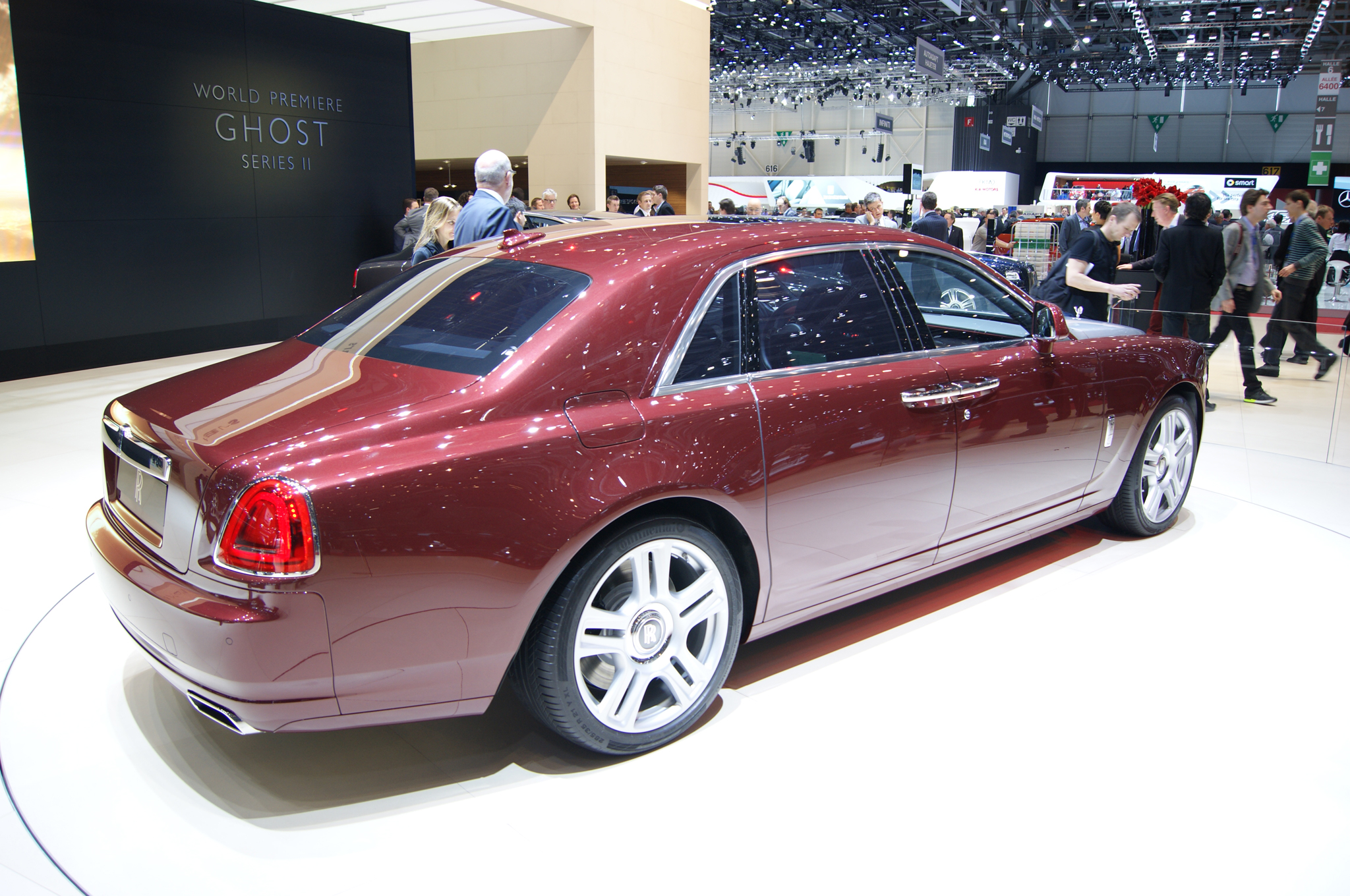 2015 Rolls Royce Ghost Series Ii #5