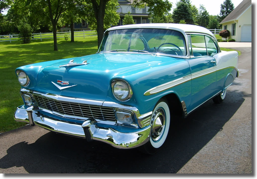 1956 Chevrolet Bel Air #11